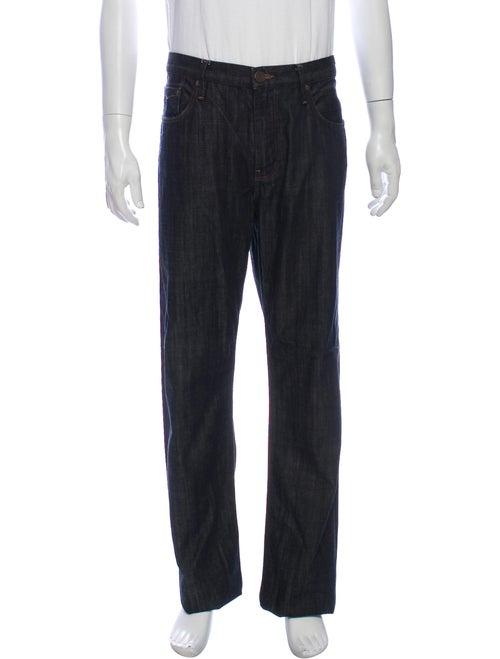 Burberry Brit Straight-Leg Jeans Blue