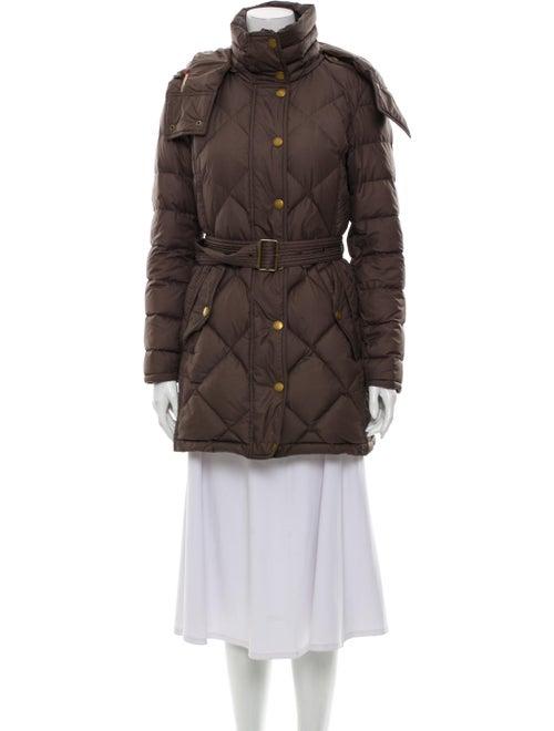 Burberry Brit Down Coat Brown