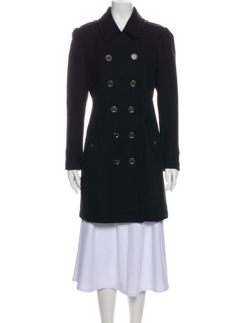 Burberry Brit Wool Peacoat Wool
