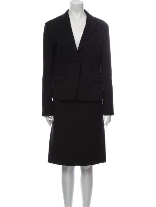 Burberry Brit Skirt Suit Black