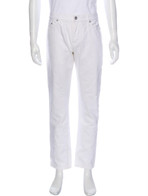 Burberry Brit Skinny Jeans White
