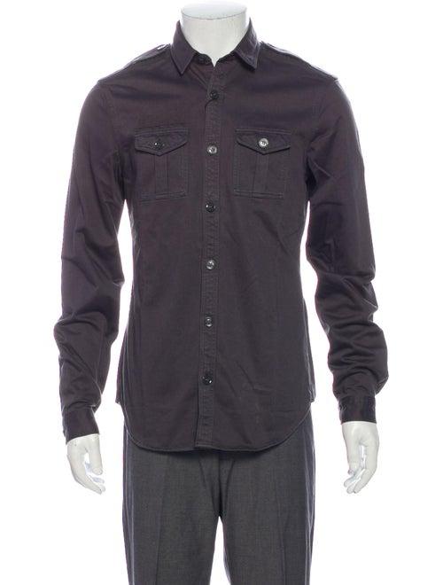Burberry Brit Long Sleeve Shirt Blue