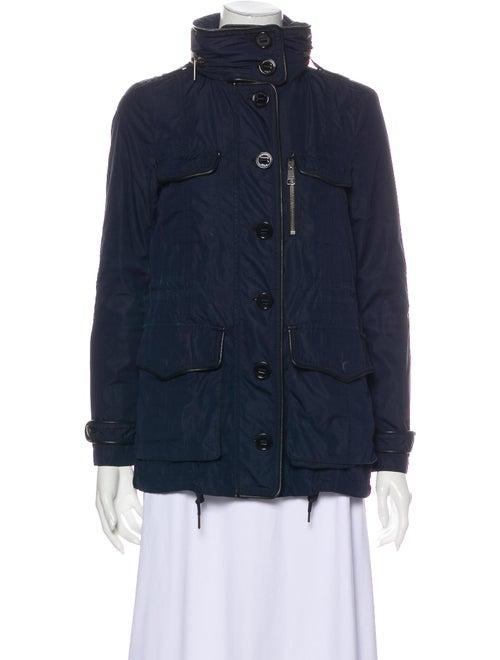 Burberry Brit Utility Jacket Blue