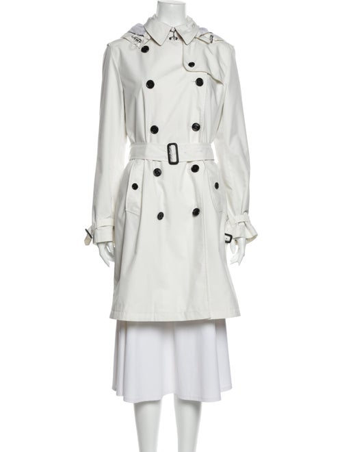Burberry Brit Trench Coat White