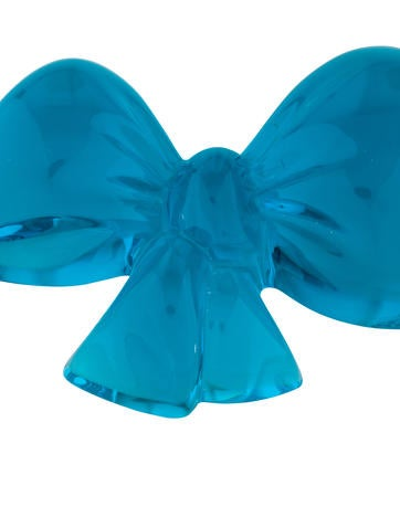 Baccarat Bow Paperweight Decor And Accessories