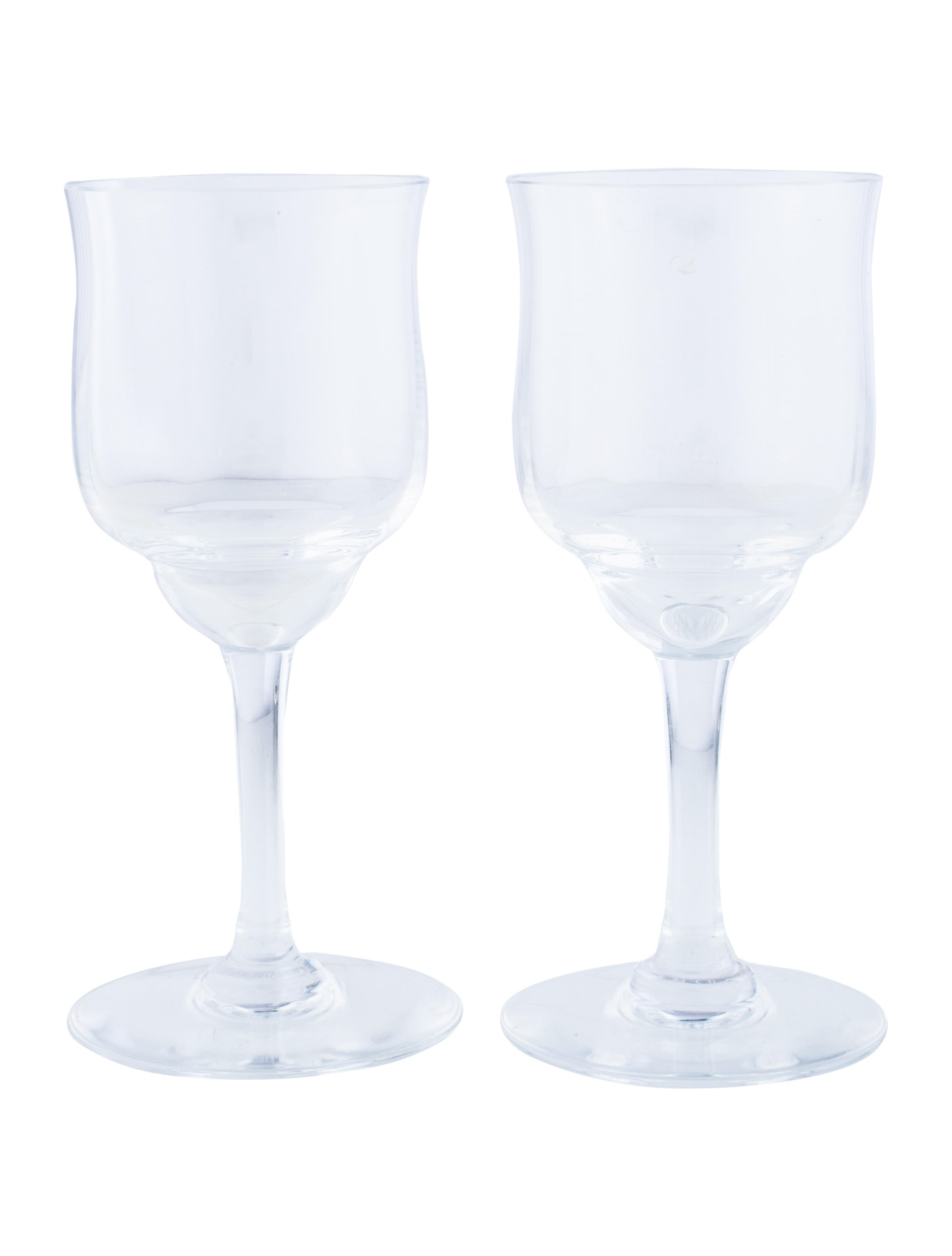 Baccarat crystal cordial glasses tabletop and kitchen bcc21571 the realreal - Baccarat stemware ...