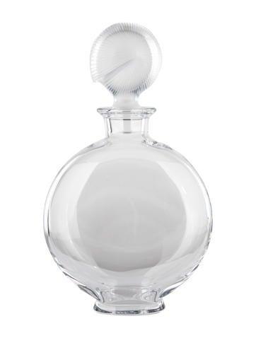 Baccarat Nautilus Whiskey Decanter