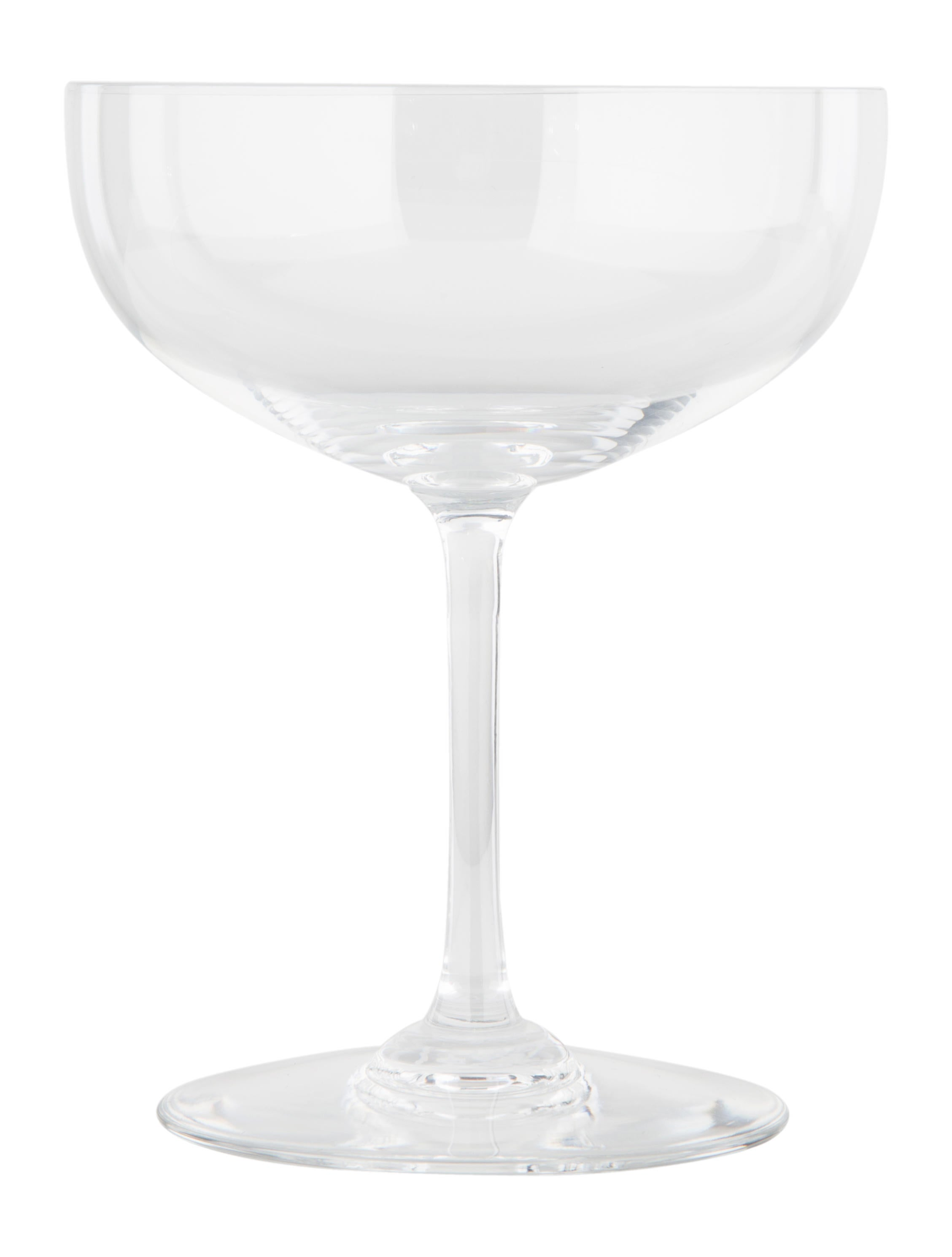 baccarat crystal champagne coupes tabletop and kitchen bcc22552 the realreal. Black Bedroom Furniture Sets. Home Design Ideas