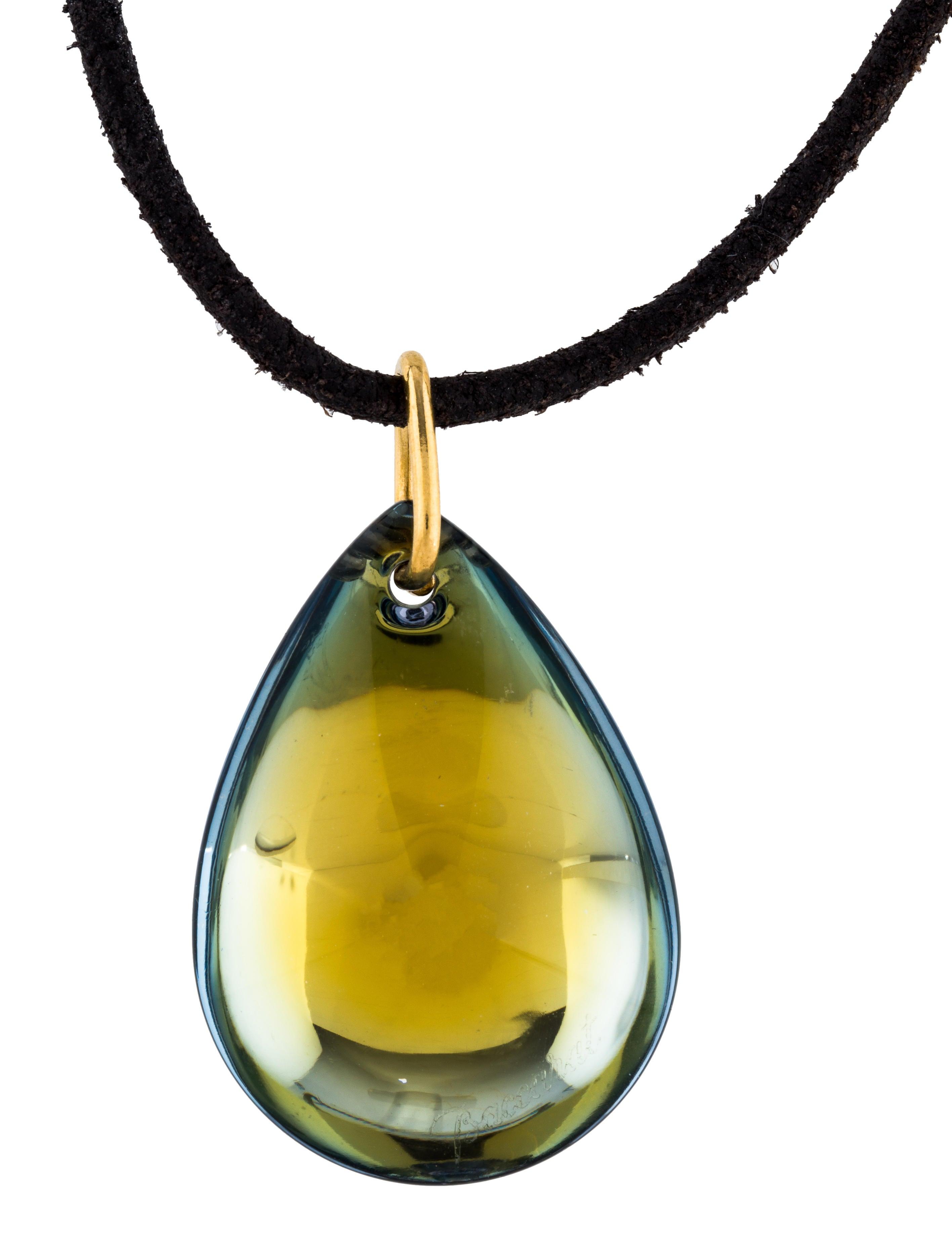 Baccarat crystal teardrop pendant necklace necklaces bcc24860 crystal teardrop pendant necklace mozeypictures Choice Image