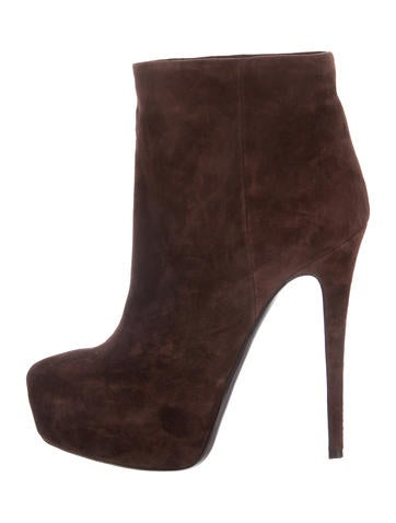 cheap official Ballin Classic Suede Platform Booties discount real diihpP1C