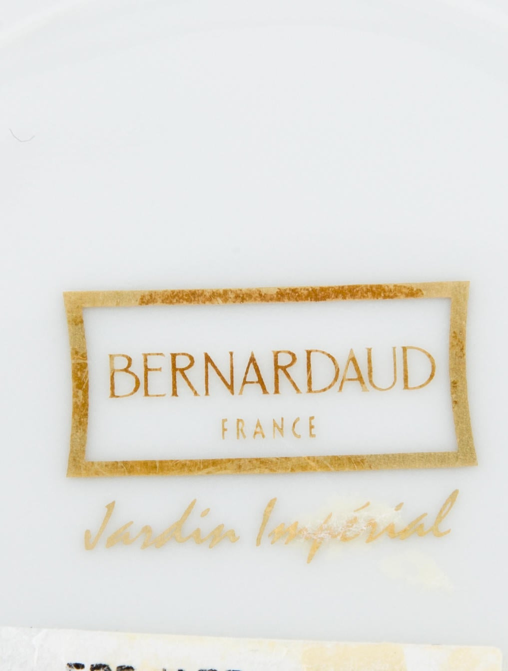 Bernardaud jardin imperial bread plate tabletop and for Jardin imperial