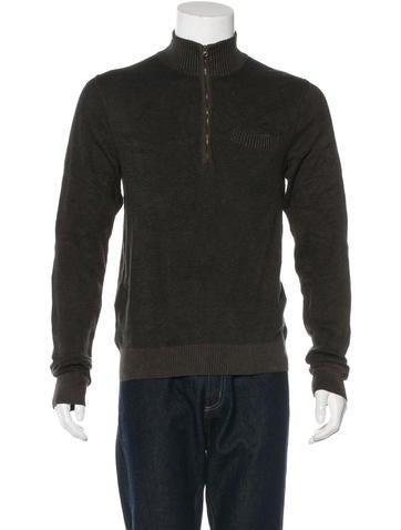 Billy Reid Pocket Zip Sweater None