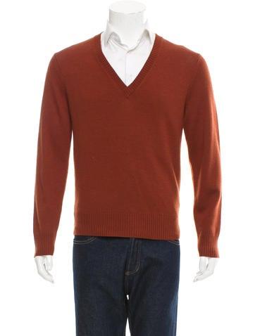 Billy Reid Wool V-Neck Sweater None
