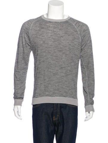 Billy Reid Striped Long Sleeve T-Shirt None