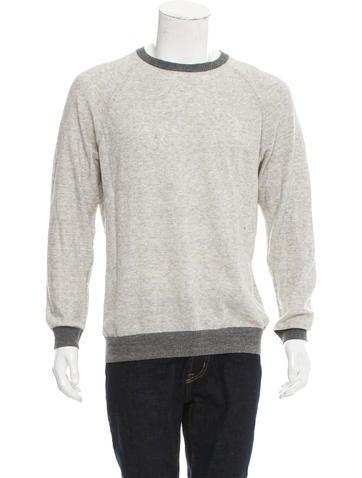 Billy Reid Crew Neck Knit Sweater None