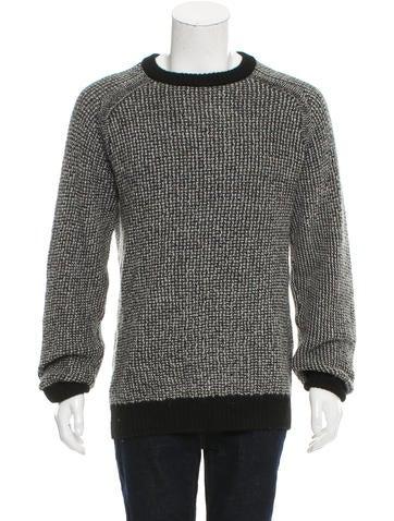 Billy Reid Alpaca Crew Neck Sweater None