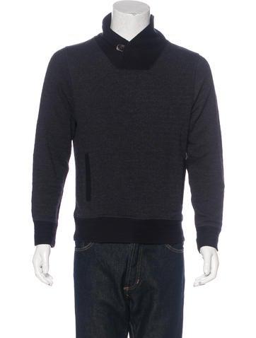 Billy Reid Shawl Collar Sweater None