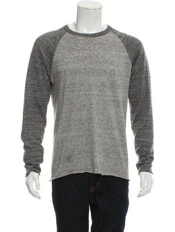 Billy Reid Raglan Knit Sweater None