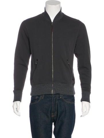 Billy Reid Alpaca-Blend Zip Sweater None