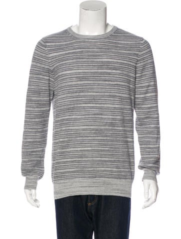 Billy Reid Wool Striped Sweater None