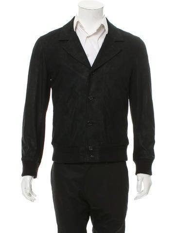 Billy Reid Suede Notch-Lapel Jacket None