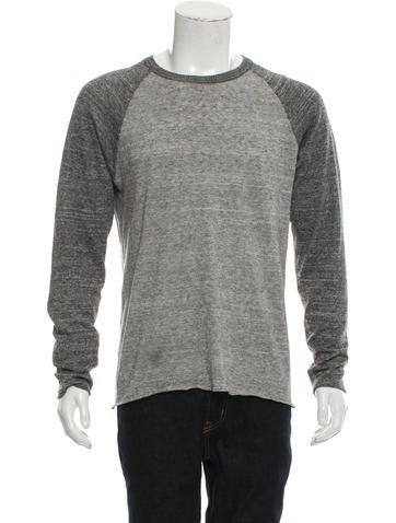 Billy Reid Raglan Knit Sweater None