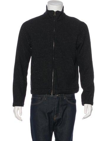 Billy Reid Wool-Blend Zip-Up Sweater None