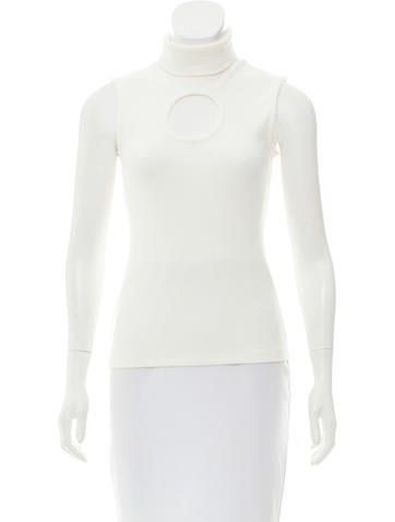 Beaufille Sleeveless Turtleneck Top None