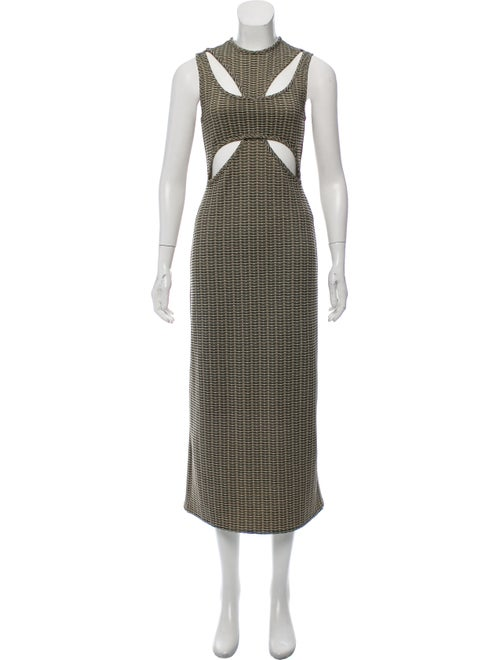 Beaufille Sleeveless Maxi Dress Olive