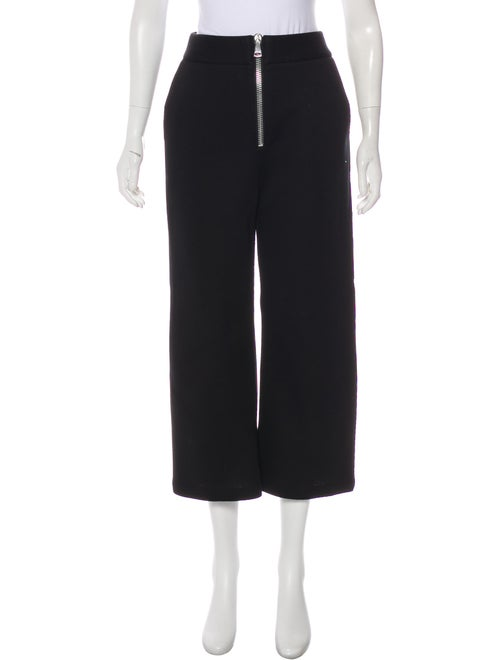 Beaufille Flared Cropped Pants Black