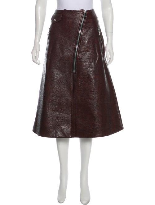 Beaufille Textured Midi Skirt