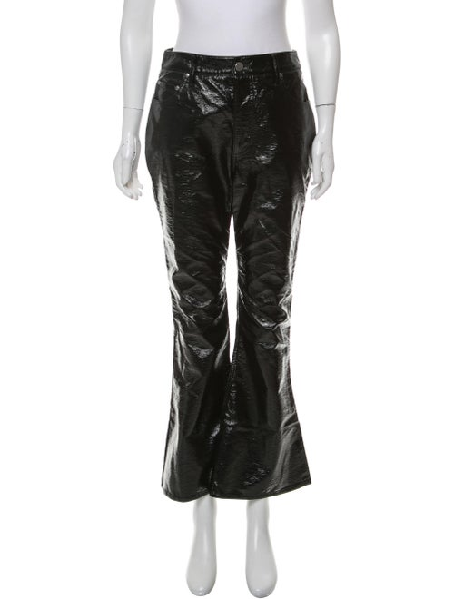 Beaufille High-Rise Flared Pants Black