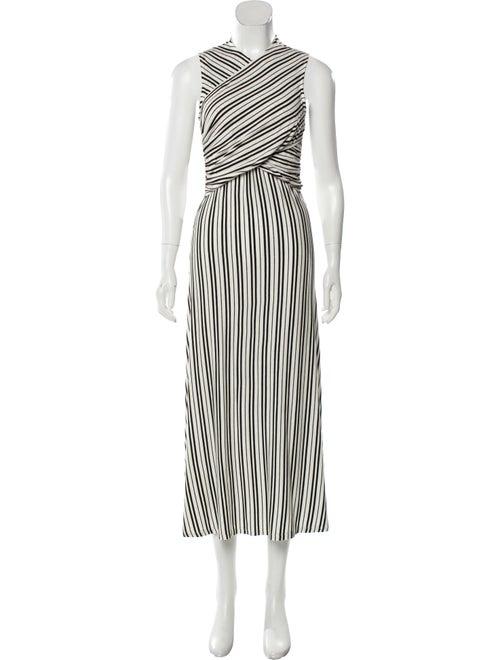 Beaufille Sleeveless Midi Dress White
