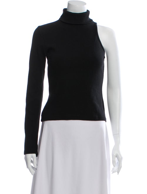 Beaufille Turtleneck Long Sleeve Top Black