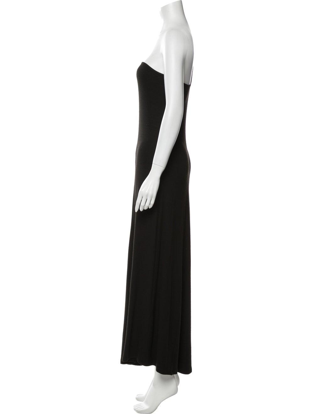 Beaufille One-Shoulder Long Dress Black - image 2