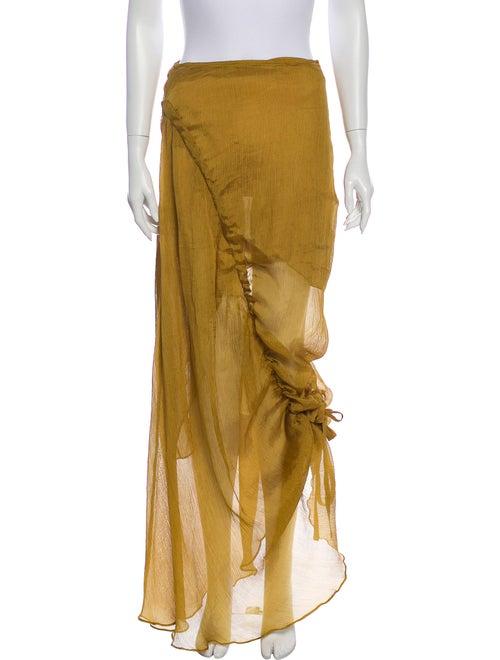 Beaufille Long Skirt Green