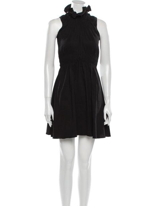 Beaufille Linen Mini Dress w/ Tags Black