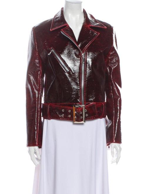 Beaufille Virgin Wool Biker Jacket Wool
