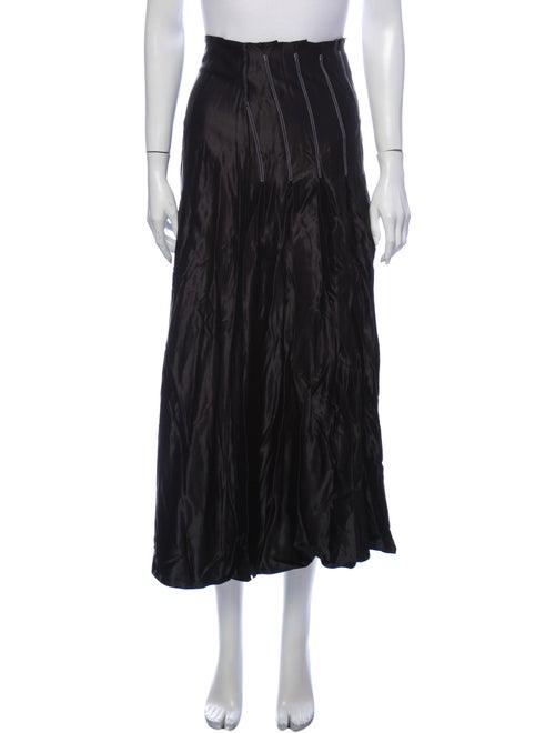 Beaufille Midi Length Skirt Black