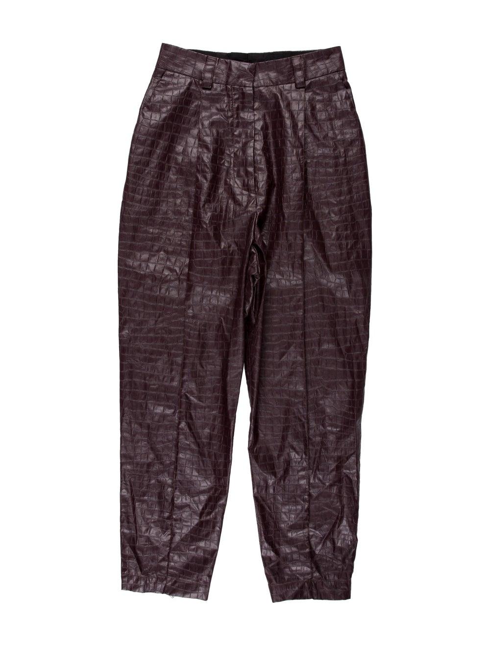 Beaufille Straight Leg Pants Purple - image 1