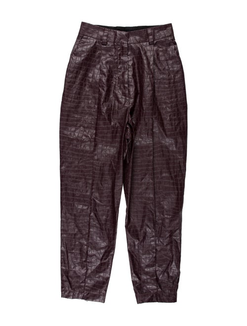Beaufille Straight Leg Pants Purple