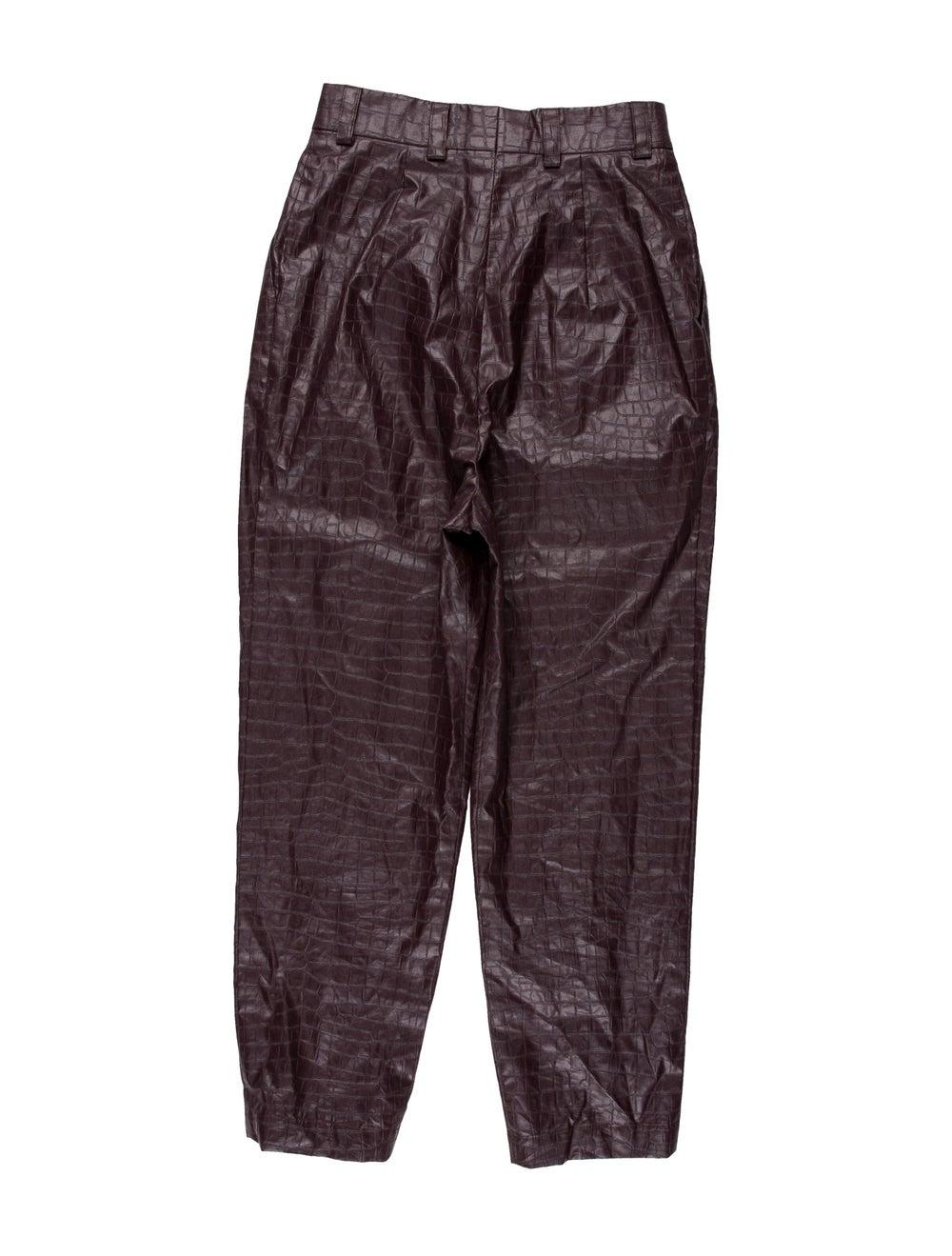 Beaufille Straight Leg Pants Purple - image 2