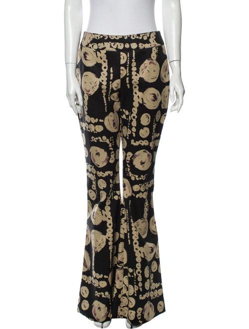 Beaufille Printed Wide Leg Pants Black - image 1