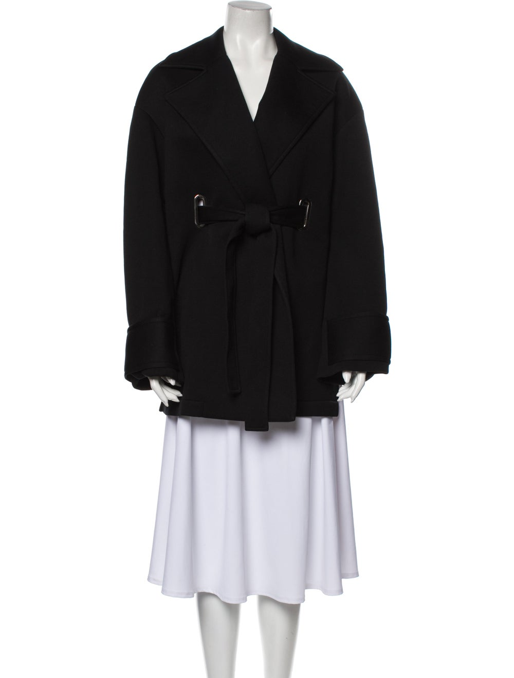 Beaufille Trench Coat Black - image 1