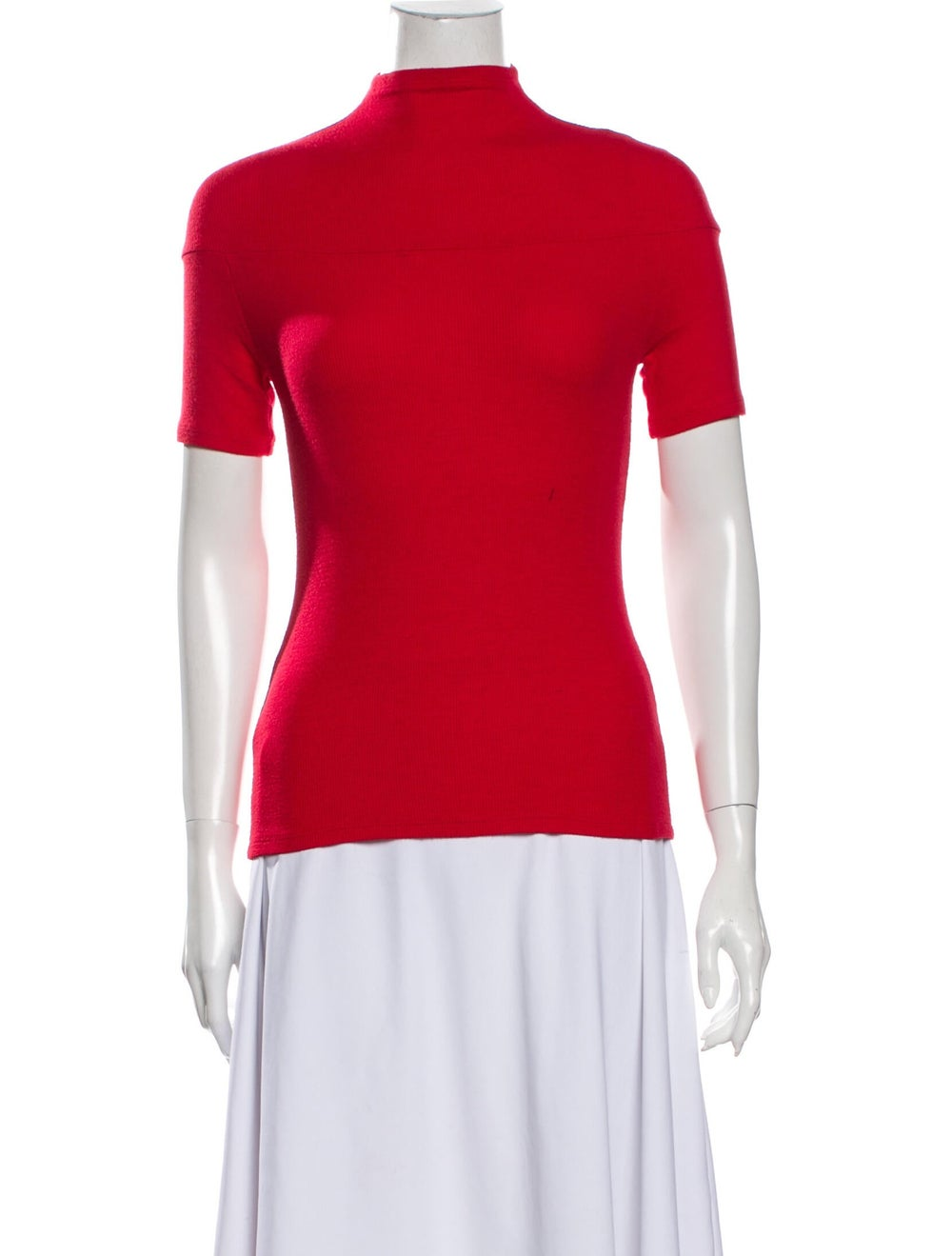 Beaufille Turtleneck Sweater Red - image 1