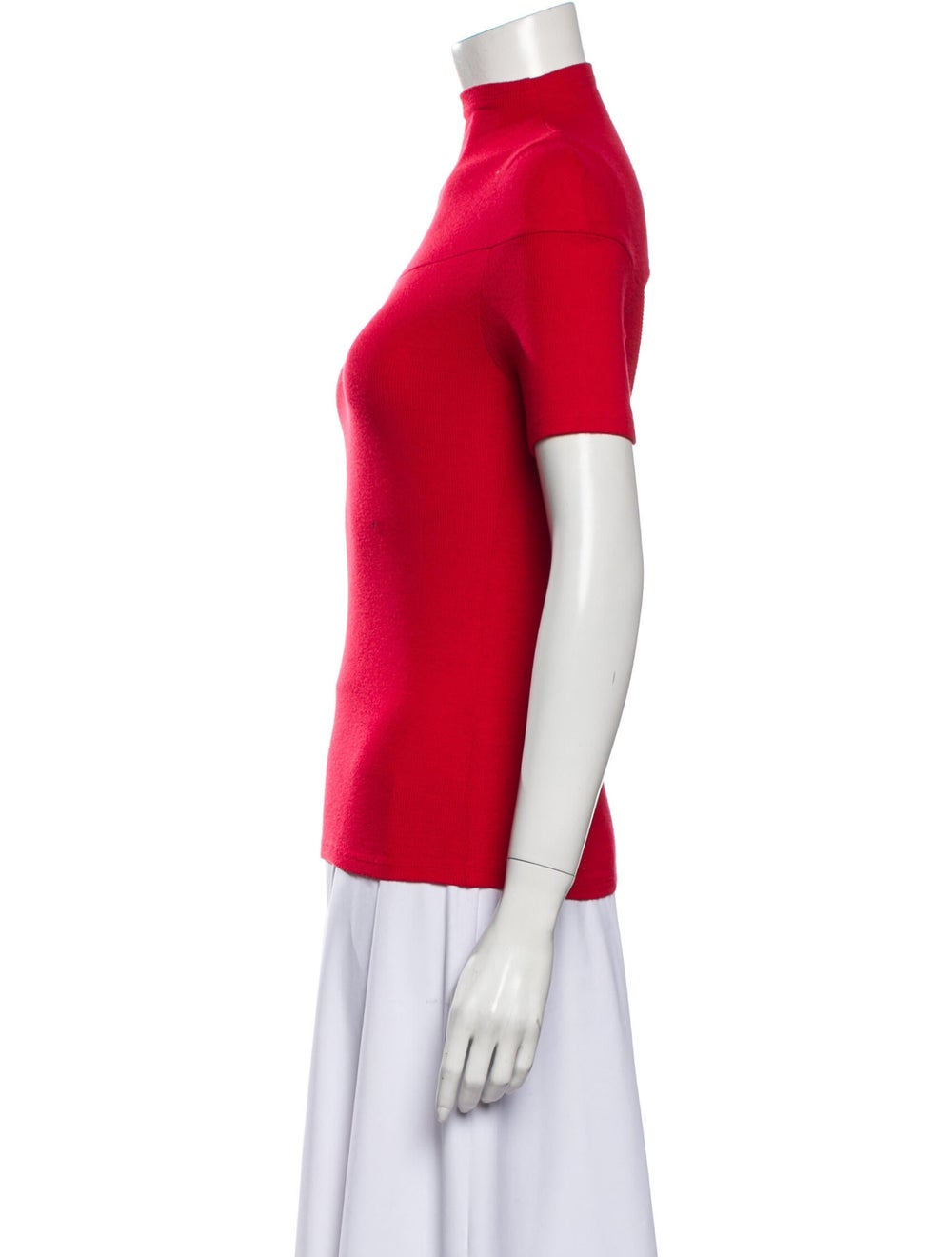 Beaufille Turtleneck Sweater Red - image 2