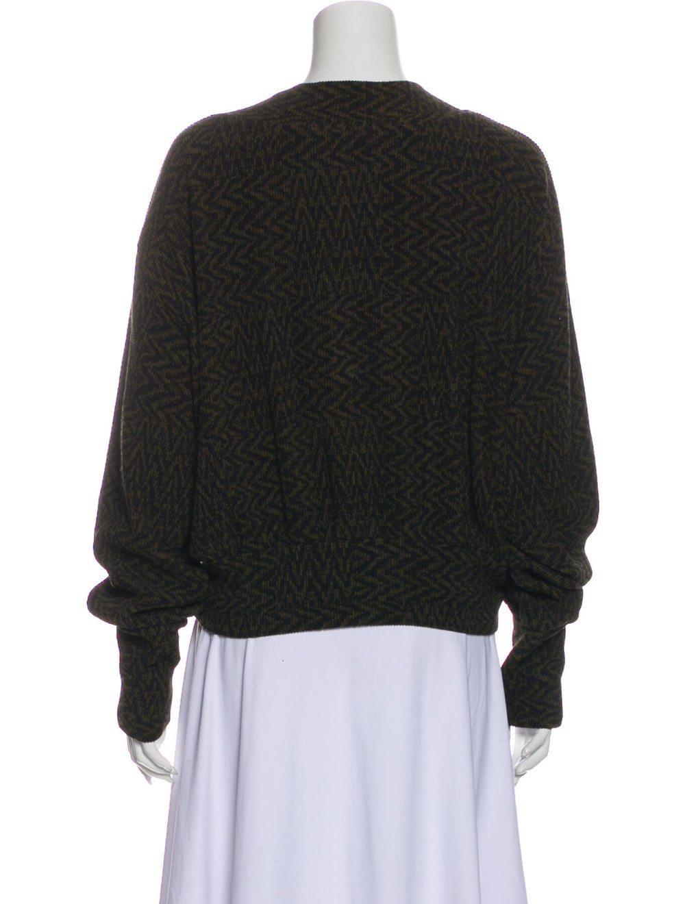 Beaufille V-Neck Sweater w/ Tags Green - image 3