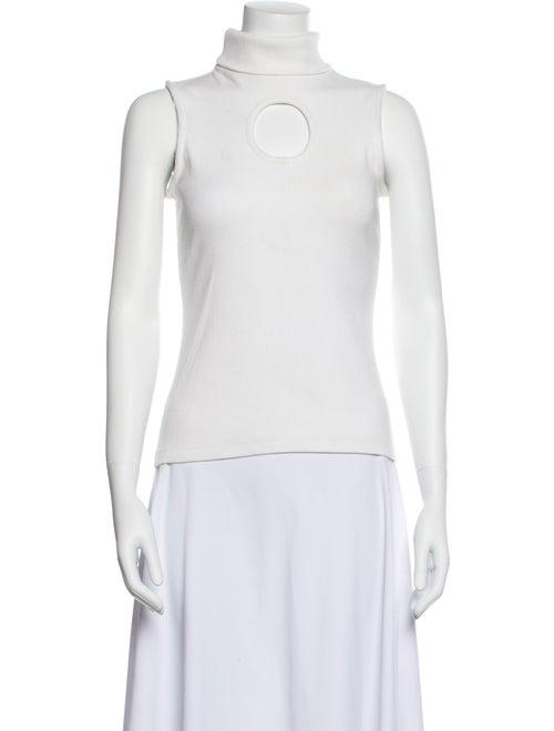 Beaufille Turtleneck Sweater White