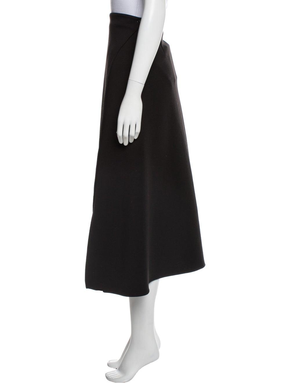 Beaufille Midi Length Skirt Black - image 2