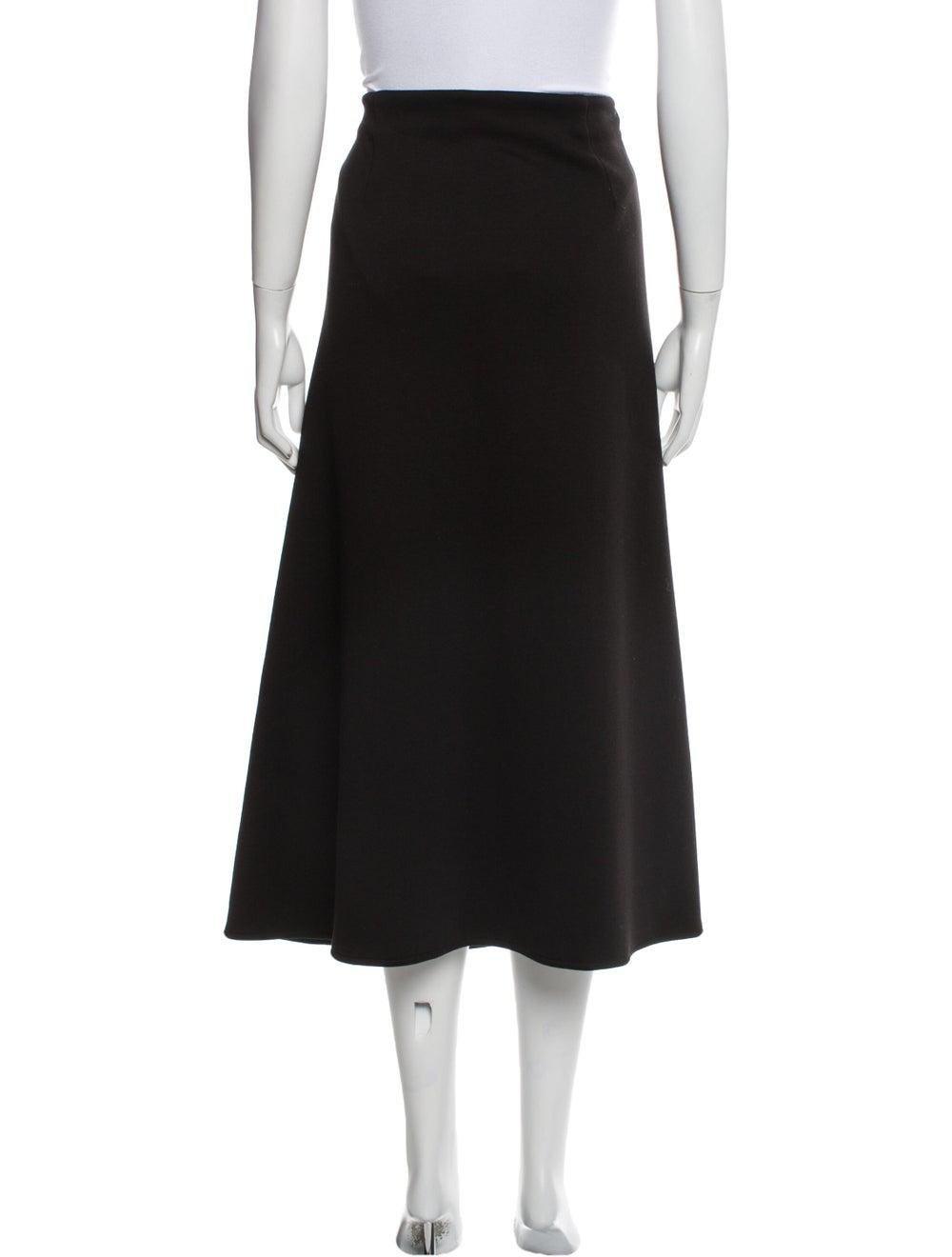Beaufille Midi Length Skirt Black - image 3